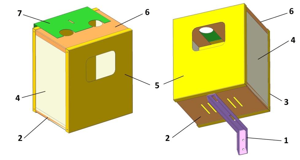 Газовый ящик для счетчика своими руками